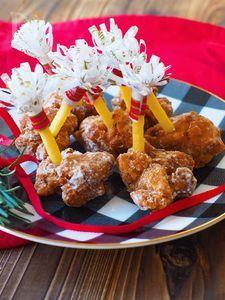 クリスマスに、もも肉で簡単!チューリップチキン風
