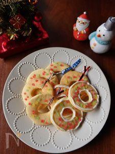 子どもと作るリースクッキー