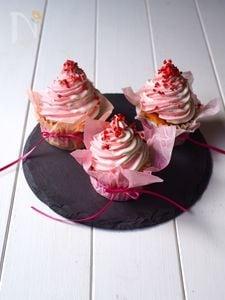 紅白カップケーキ