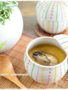 圧力鍋で作る!牡蠣のあんかけ茶碗蒸し