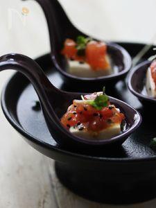 塩糀トマトの冷や奴