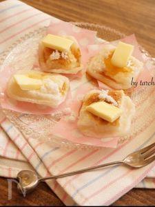 バター砂糖醤油もち
