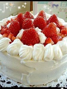 誕生日ケーキ☆