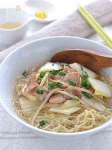 白菜と豚バラde塩ラーメン
