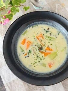 白菜がなくても大丈夫!青梗菜の豆乳シチュー