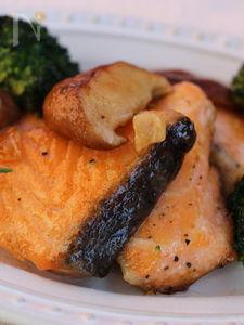 生鮭のゆずポン酢・バター焼き