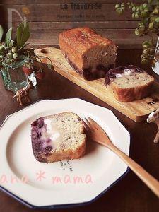 ノンオイル♪ふわもっち~なブルーベリーヨーグルトケーキ♪