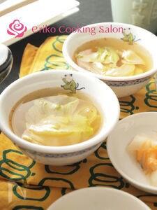 【5分以内】レタスの酸辣湯
