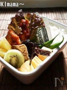お弁当に〜ささ身のブルーベリートマトソース(作りおき)