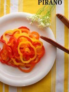 【59kcal】食べるサプリ★パプリカのマリネ風サラダ♪