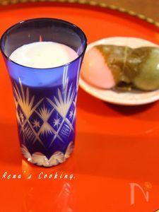 白酒ミルク