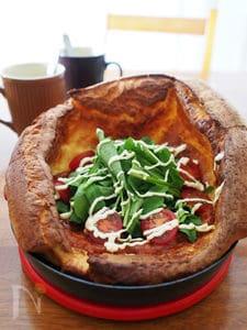 カフェ風おかずダッチパンケーキ