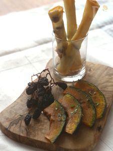 かぼちゃの前菜バルサミコ風味