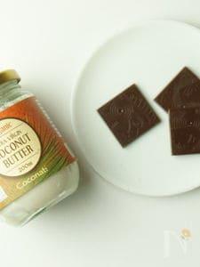 ココナッツミルク・ローチョコレート