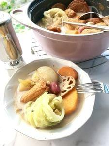 豆乳野菜おでん