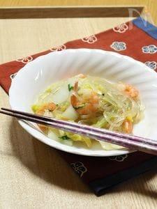 海老と白菜の中華煮