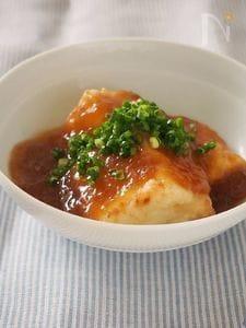 生姜とおろしのほっこり揚げ出し豆腐