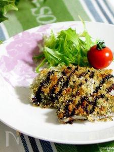 太刀魚の香草パン粉焼き