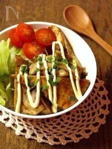 がっつり&ヘルシー*豆腐の照り焼き丼