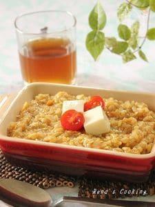 豆腐リゾットカレー風味