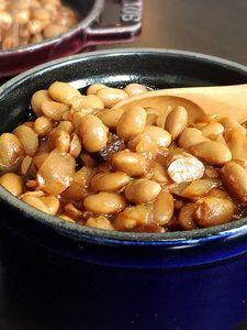 【大豆で作るベイクドビーンズ】本場アメリカの味!