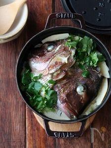 筍と鯛の炊き込みご飯。