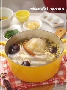 おうちで簡単・参鶏湯スープ