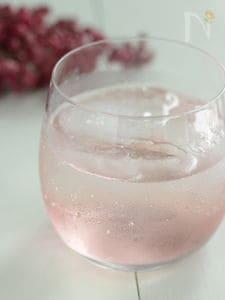 パープルクイーンの梅ジュース