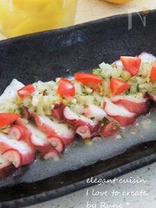 塩レモン・サッパリ蛸マリネサラダ