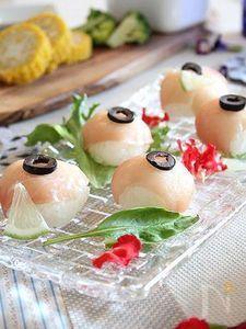 生ハムレモンのてまり寿司