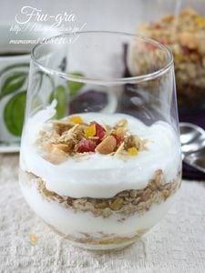 フルーツたっぷり・自家製フルーツグラノーラ