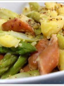 アスパラのジャーマンポテトサラダ
