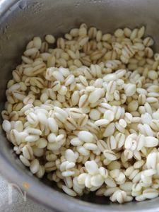 <基本>炊き押し麦(大麦レシピ)