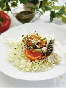 トマトのフライ