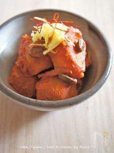 コチュジャン肉ジャガ煮物