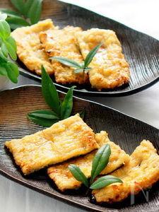 豆腐とれんこんで精進鰻