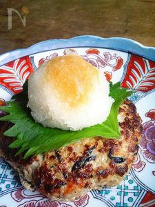 ひじき入り鶏と豆腐のハンバーグ