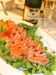 サーモンマリネ・シャンパン風味