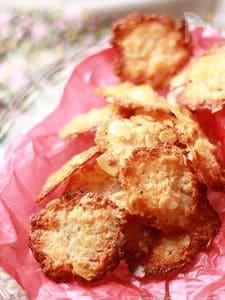 マシュマロで♡ココナツアーモンドクッキー