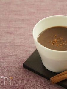 豆乳のチョコレートエッグノック