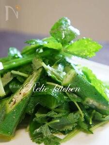 三つ葉のサラダ