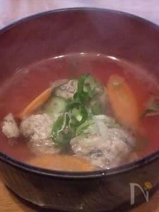 イワシのつみれ汁 イワシ料理①