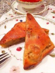 オーブントースターで簡単バナナケーキ☆