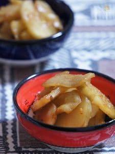 パワー野菜菊芋のさっと炒め
