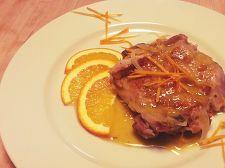 鶏のオレンジ煮