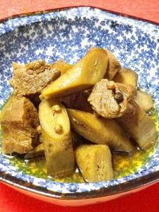 ◆牛肉とゴボウの山椒煮込:圧力鍋◆花椒の香りが食欲をそそる