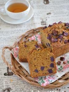 Wさつま芋の黒糖パウンドケーキ