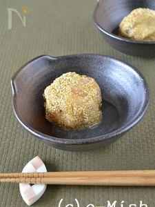 里芋と海老のまんじゅう