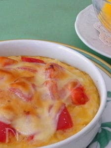 焼き卵かけご飯