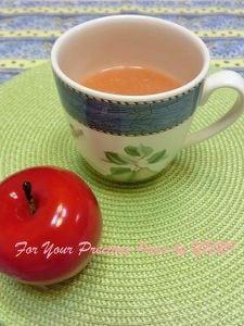 りんごと人参のスープ